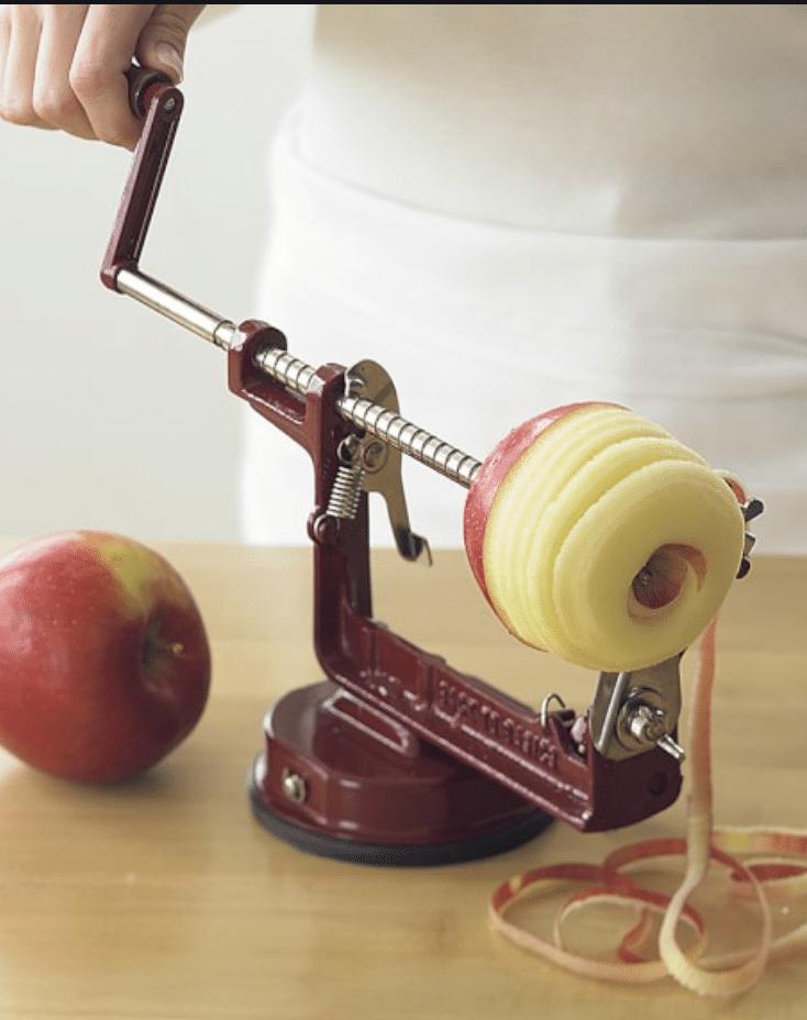 Hand Crank Apple Peeler