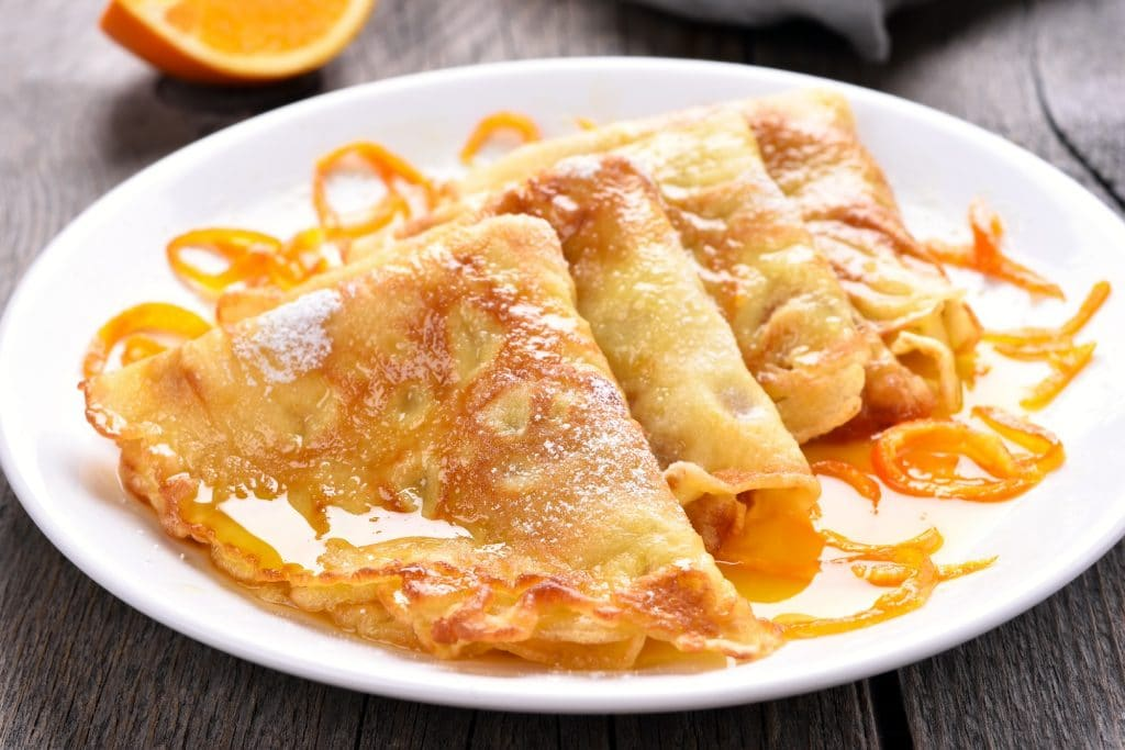 Crepes Suzette Blog Image
