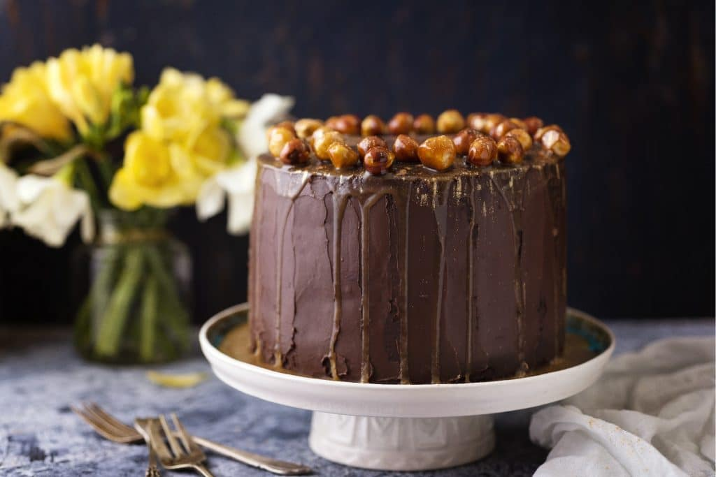 Hazelnut Cake Blog Photo