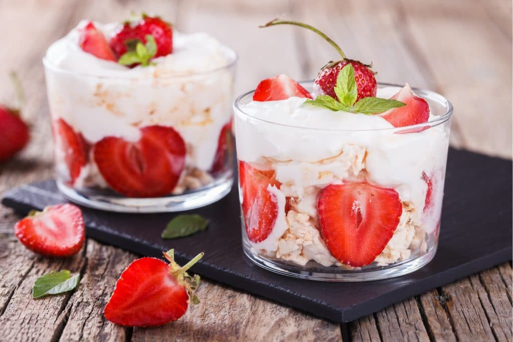 Strawberries and Cream Image