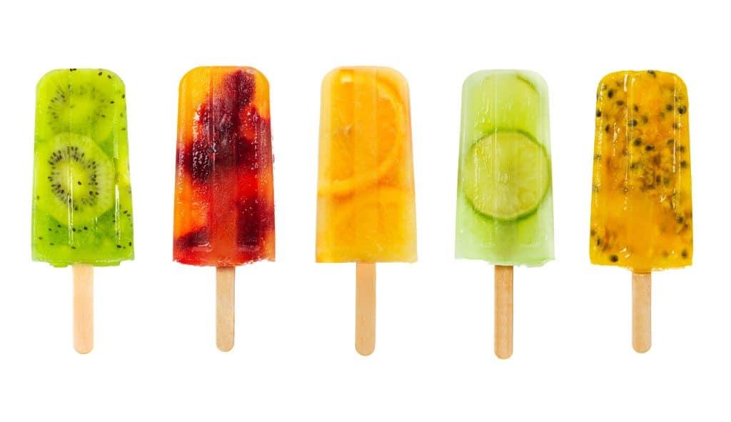 Blog Image for Popsicles. Image du Blog Sucettes Glacées.