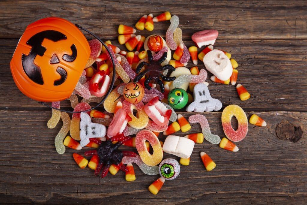 bonbons d'halloween effrayants - Dessert Advisor