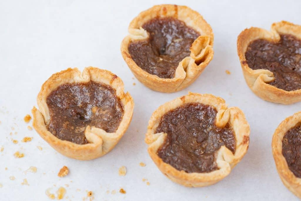 Butter Tarts Blog Image. Image du Blog Tartelettes au Beurre.