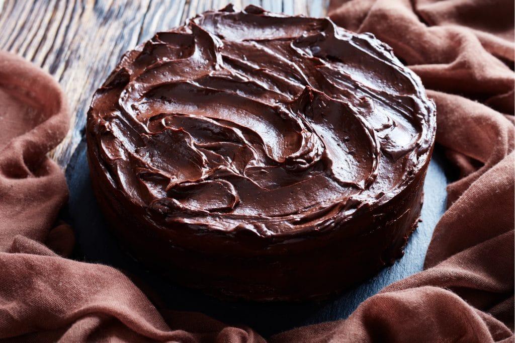 Chocolate Cake Blog Image. Image du blog gâteau au chocolat.