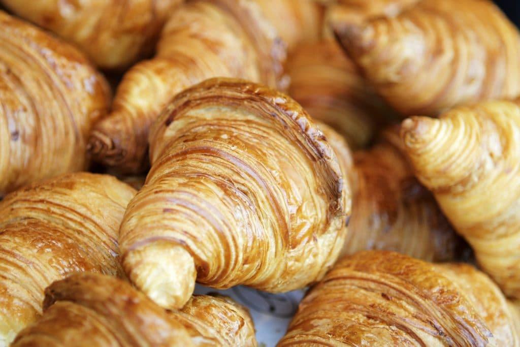 Croissants Blog Image. Image du blog croissants.