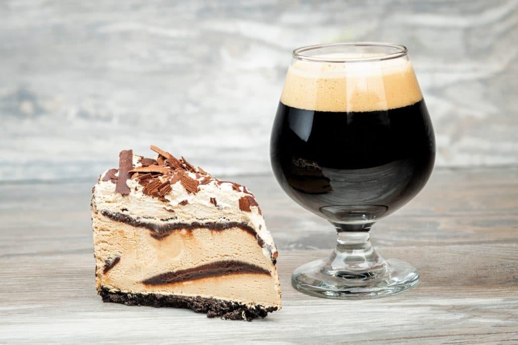 Stout Desserts Blog Image. Image du blog desserts à la bière.