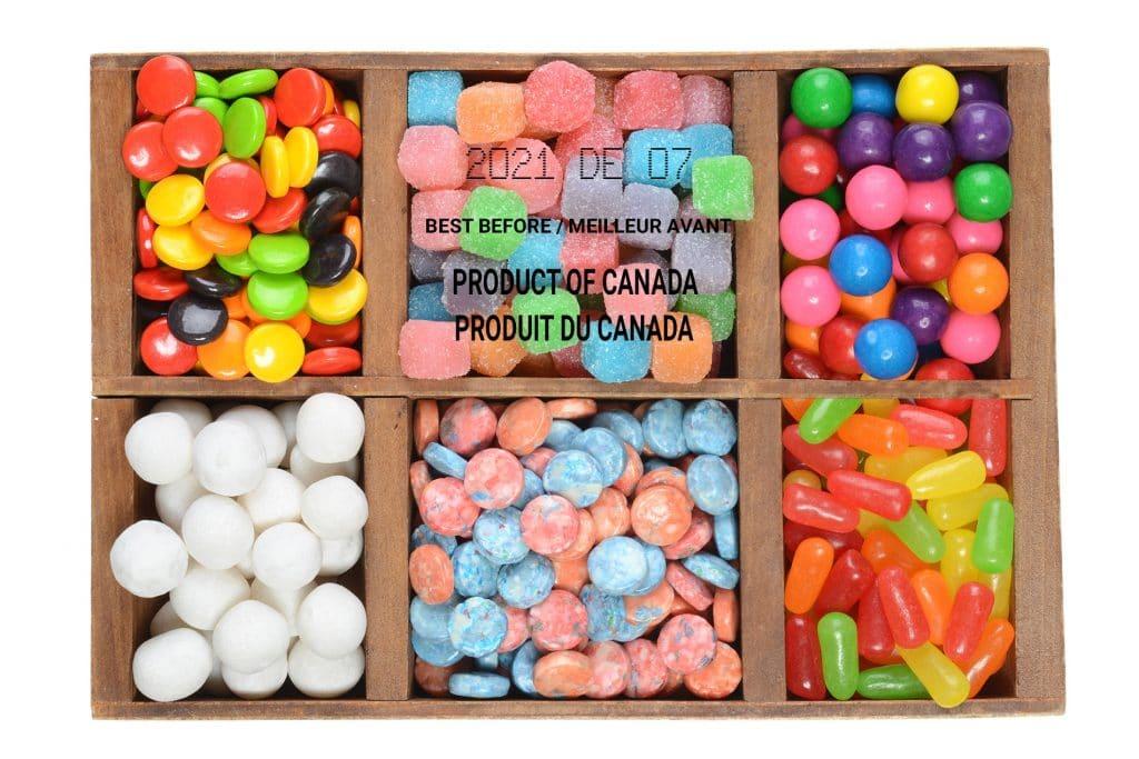 Candies Blog Image. Image du blog bonbons.
