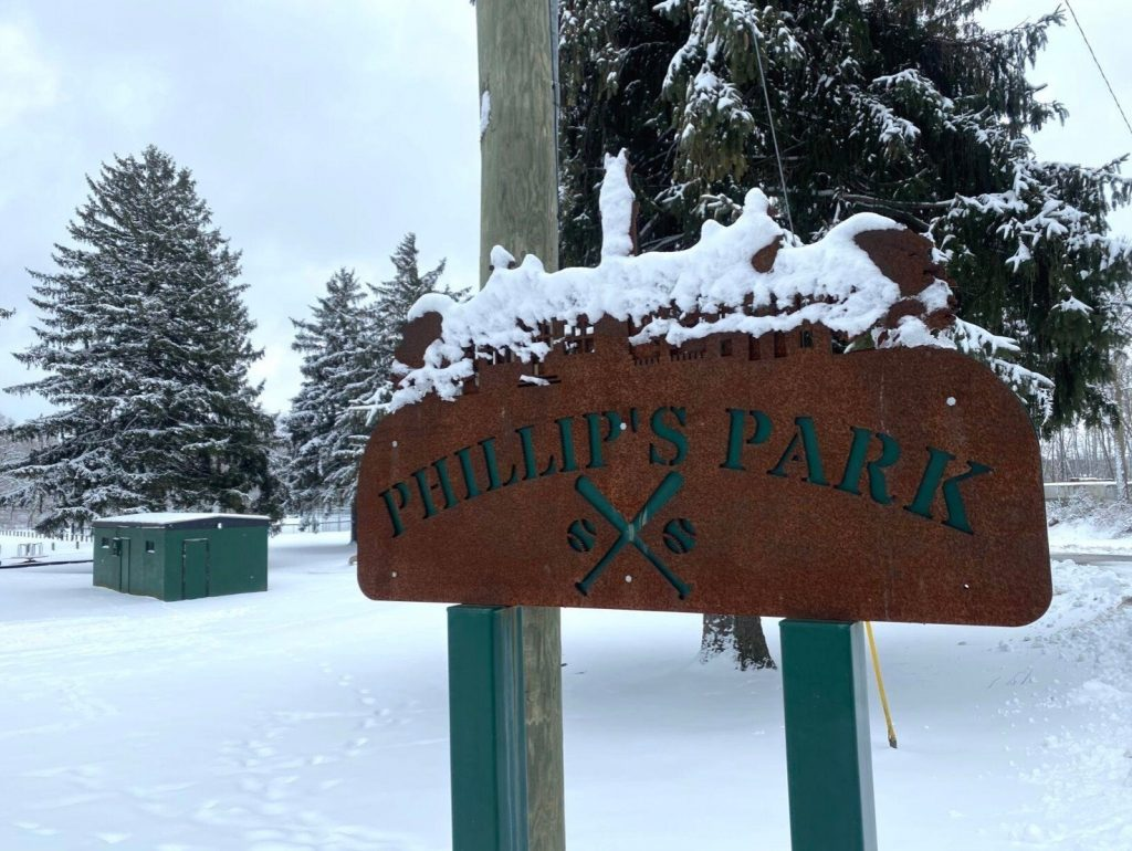 Philips Park Sign