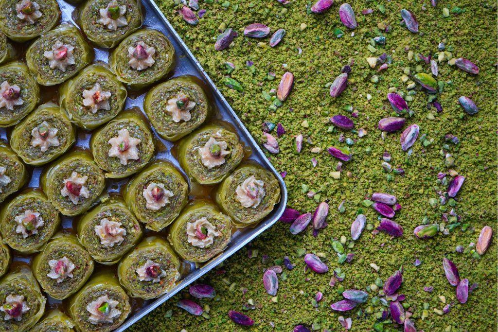 Pistachio Desserts Blog Image. Image du blog desserts à la pistache.
