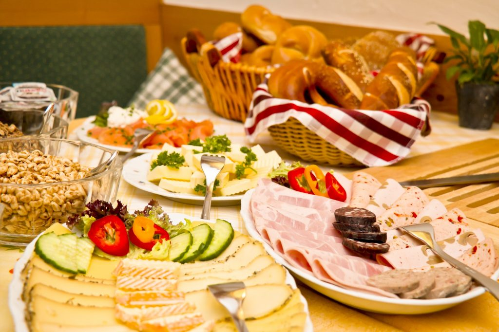 German Breakfast Buffet