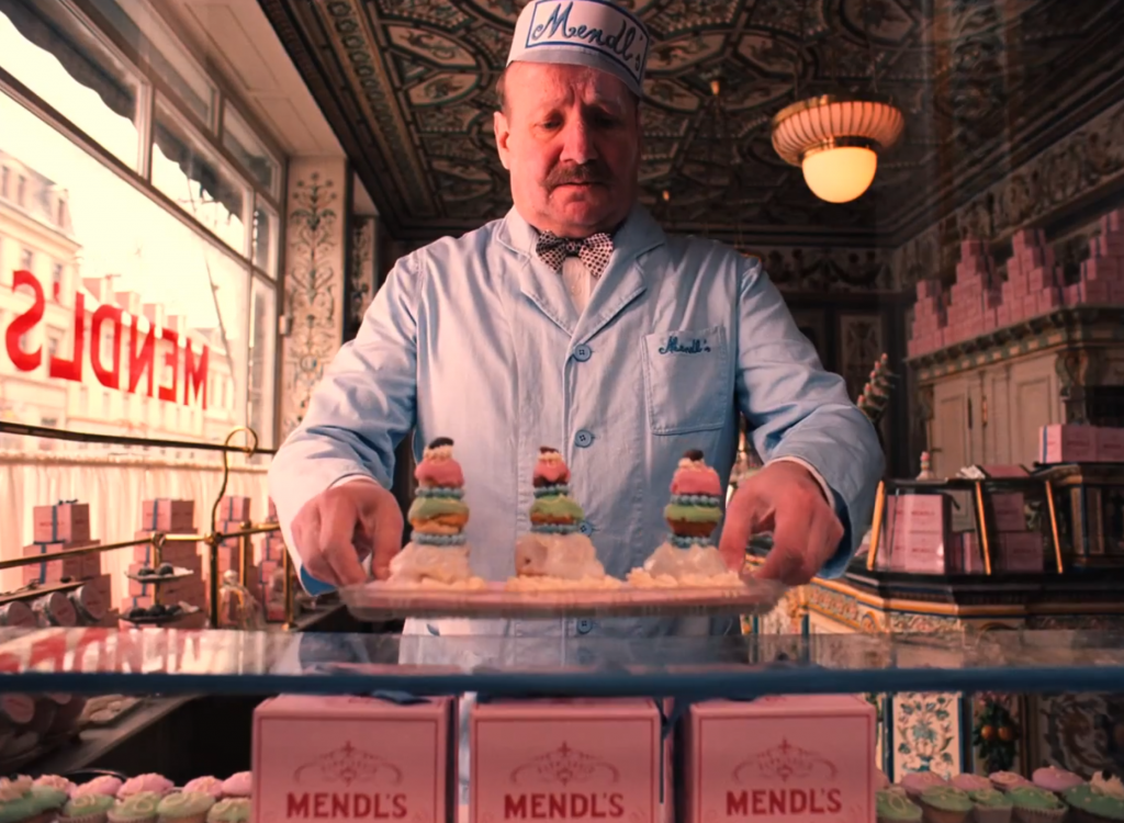 Courtesan au Chocolat From Wes Andersons The Grand Budapest Hotel
