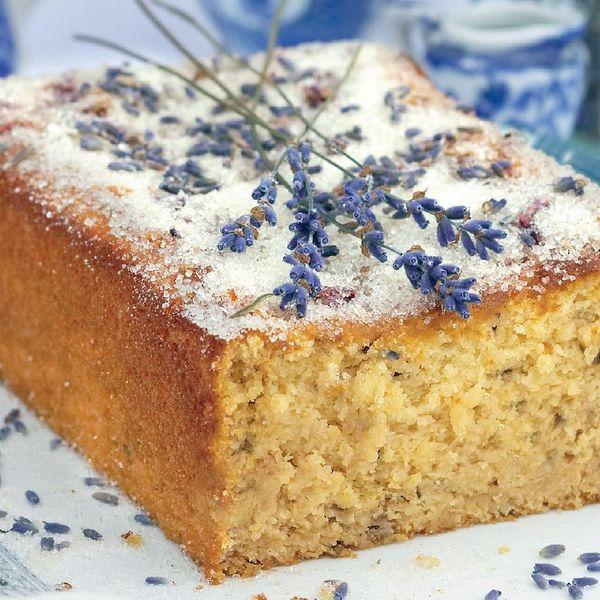 Lemon and lavender drizzle cake the happy Foodie Dessert advisor