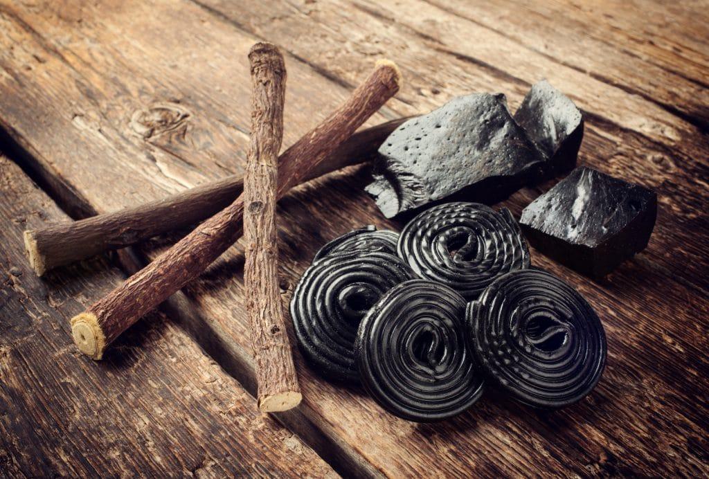 Licorice candy Blog Image. Image du blog bonbons à la réglisse.