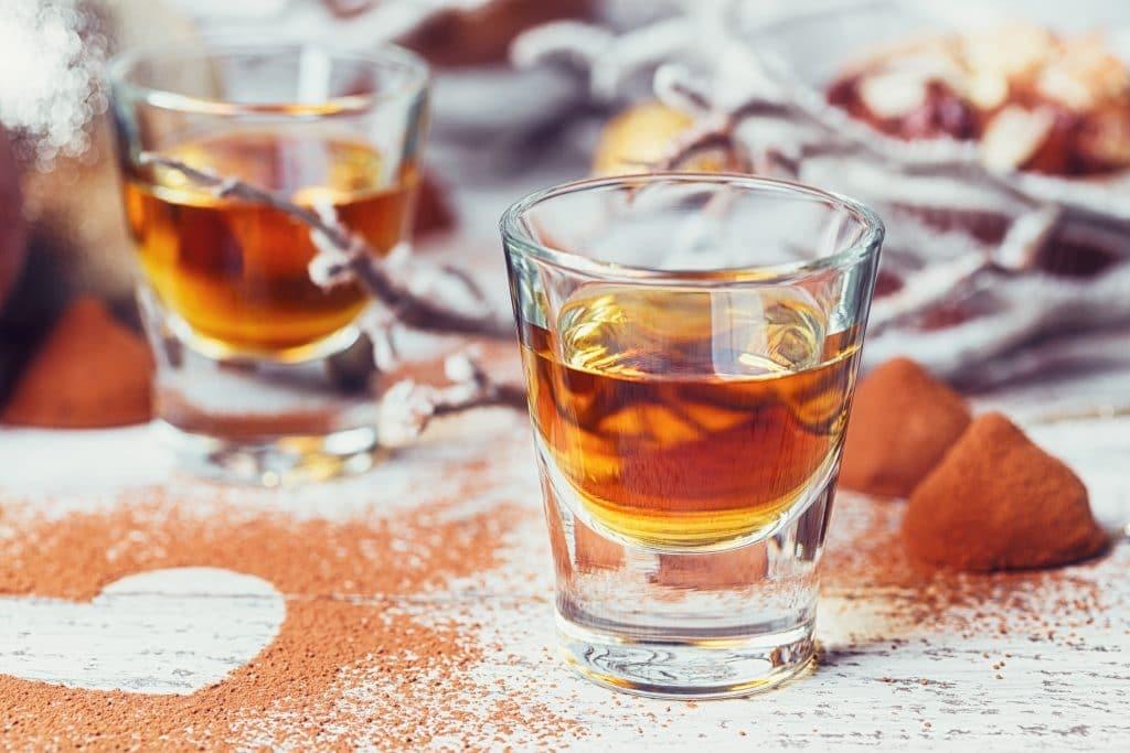 Cognac and Brandy Desserts Blog Image. Image du blog desserts au cognac et brandy.
