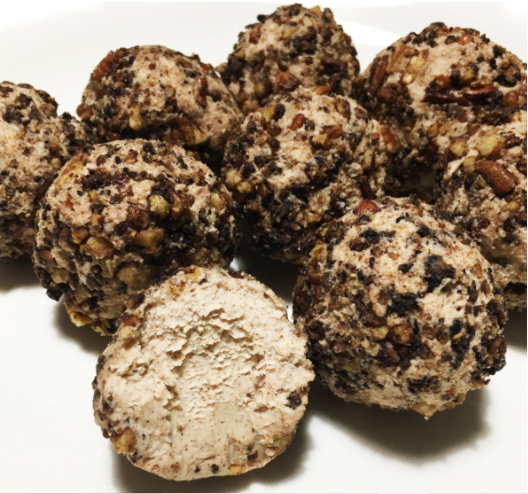 Toasted Pecan Fat Bombs