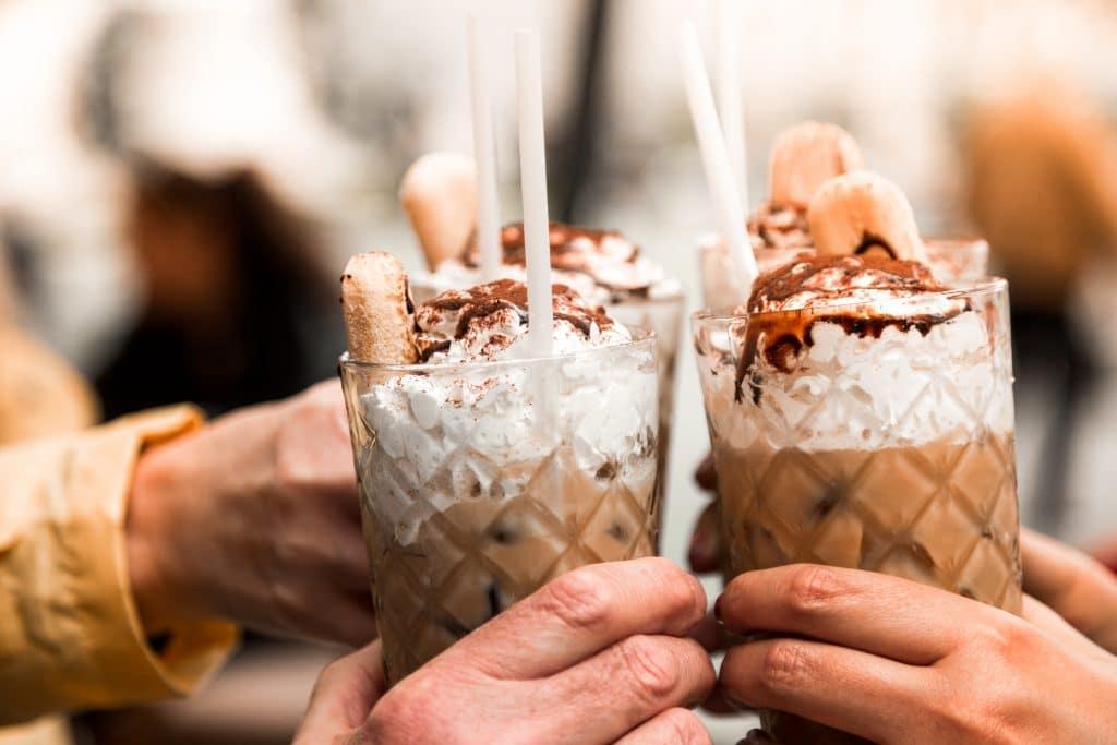Coffee Frappes Blog Image. Image du blog cafés frappés.