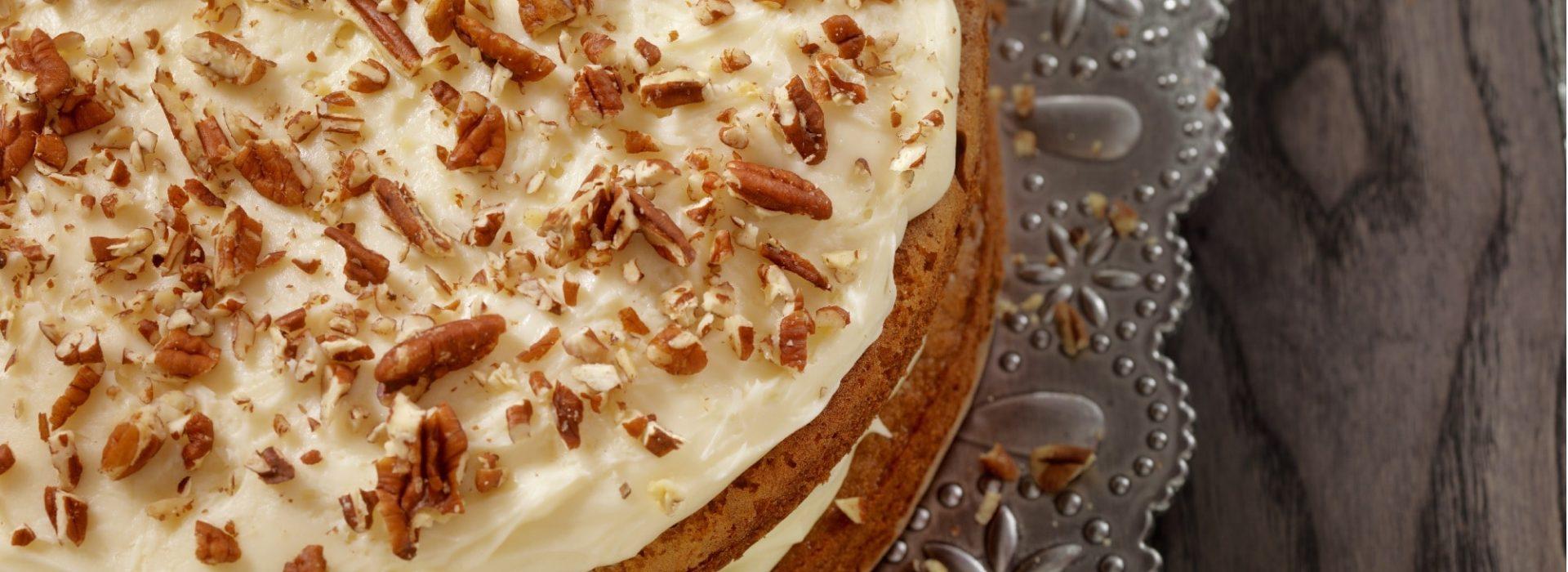 Carrot Cake Blog Image. Image du blog gâteau aux carottes.