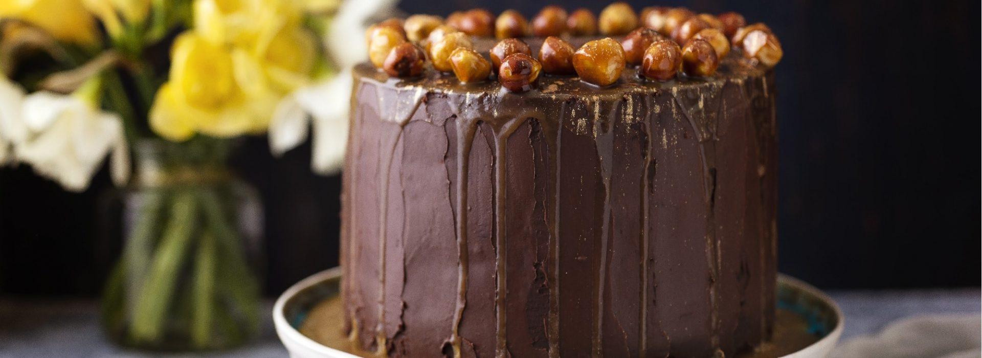 Hazelnut Cake Blog Photo