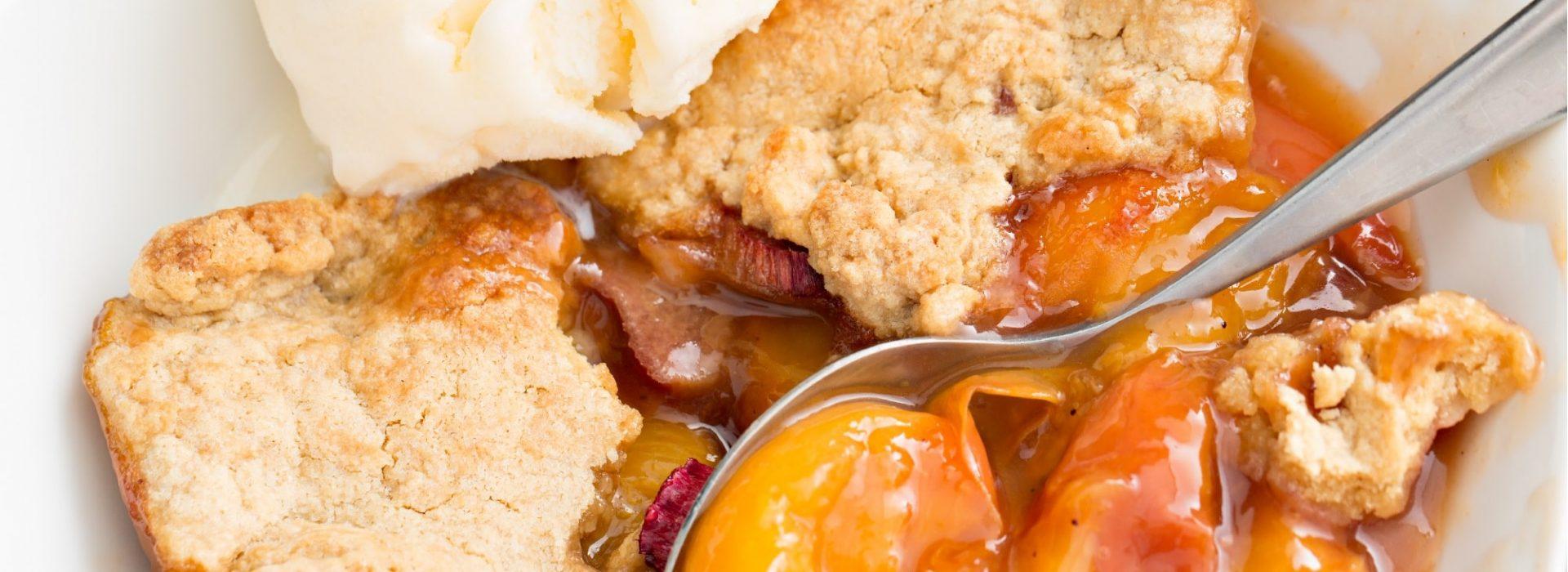 Peach Cobbler Blog Image