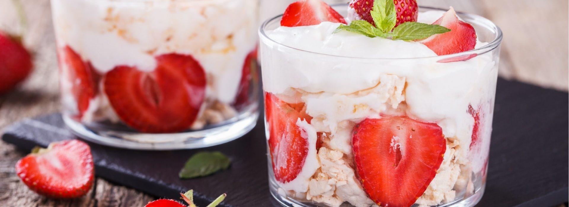 Strawberries and Cream Image